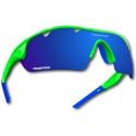 Okulary POWER RACE FALCON | kolor zielono-niebieskie