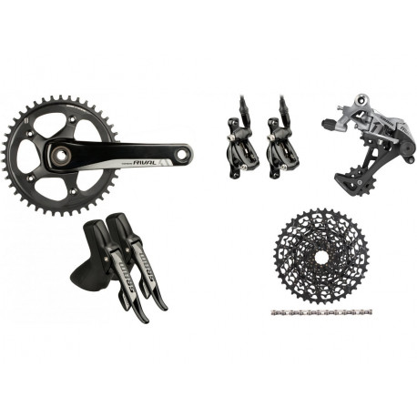 Grupa SRAM Rival 1 GXP 1x11 172,5mm 42T 11-36T Disc Brake