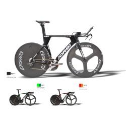 Rower czasowy Jorbi TTC FLAT CRONO UCI / SH 105