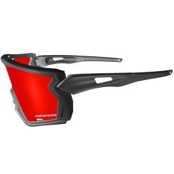 Okulary Power Race Dominator black/red