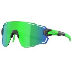 Okulary Power Race Aviator kolor zielony