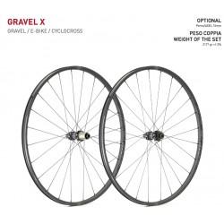 Koła szosowe GIPIEMME Gravel X gravel / cx pod oponę
